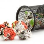 Ako znížiť tvorbu odpadu z papiera