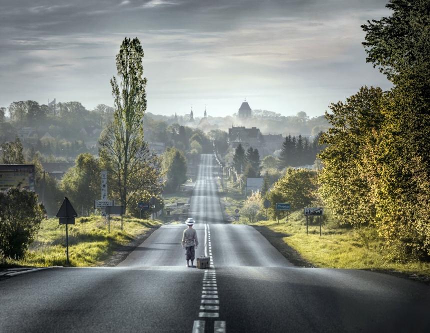 The long trip by Mariusz Warsinski